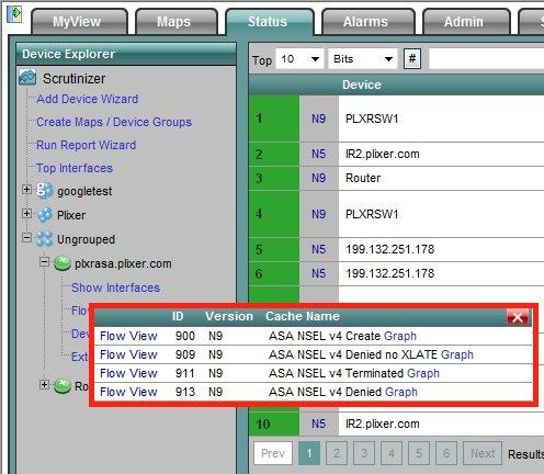 Setting up the ASA to export NetFlow using Cisco ASDM 6 2