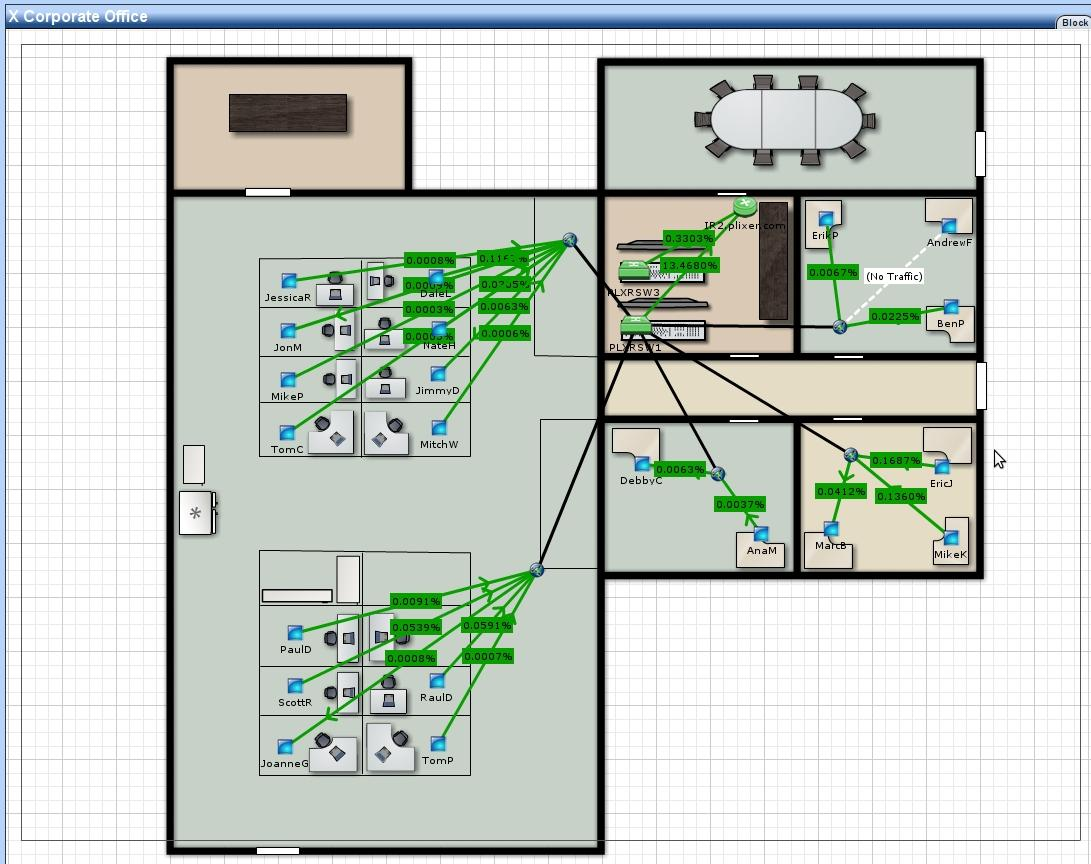 Upgrade Your Network Maps Internet Wiring Closet Imagine A 3d Office Map Such As The Example Below Displayed On Large Screen Monitor In Noc Could Anything Be More Impressive