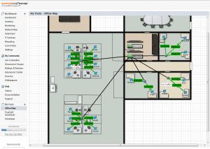 Scrutinizer NetFlow Map