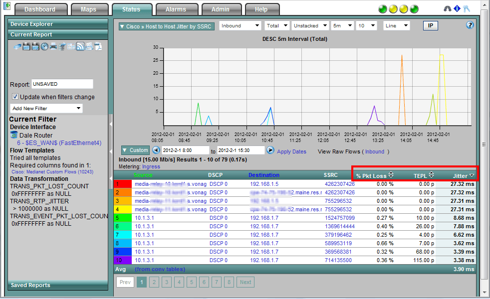 Cisco Network Monitoring : Monitor webex with netflow cisco live
