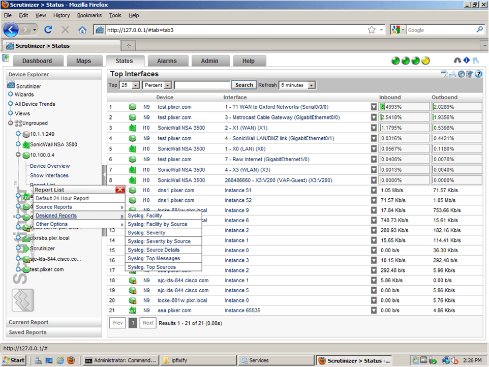 IPFIX Collector: Syslogs exported as IPFIX!