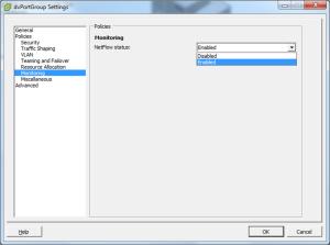 VMware vSphere IPFIX