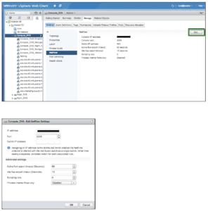 VMware NSX IPFIX Configuration