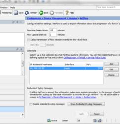 Cisco ASA NetFlow Configuration using ASDM