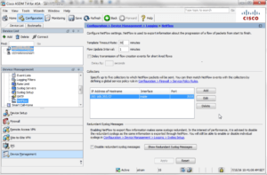ASDM NetFlow Configuration