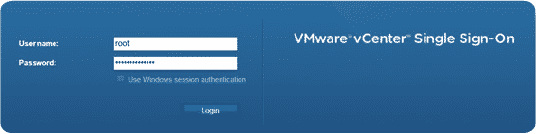 Connect to vCenter/vSphere