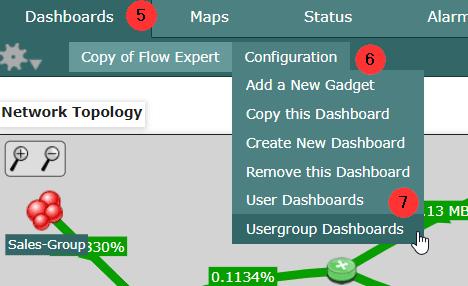 Usergroup Dashboards