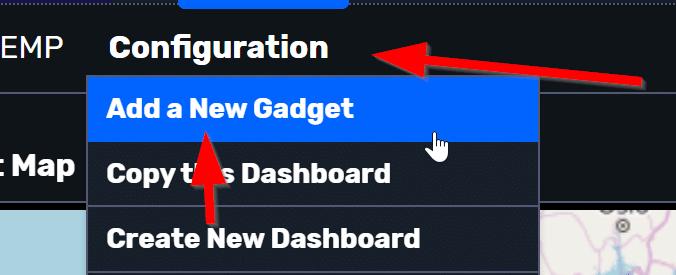 Add new gadget