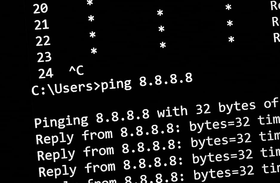 ping network command